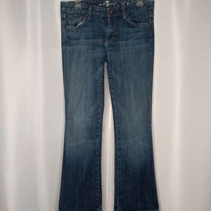 """7 FOR ALL MANKIND """"A"""" pocket Jeans Sz 29"""